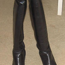 Enzo Angiolini Eaarzaga Black on Black Boots 9m Photo