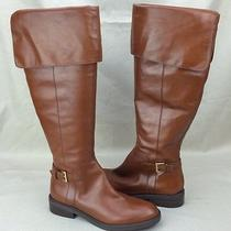 Enzo Angiolini Easterling Riding Equestrian High Fashion Boots Natural  Us 8.5 Photo