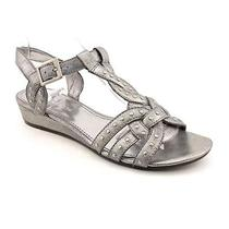 Enzo Angiolini Neka Womens Size 6.5 Gray Gladiator Sandals Shoes - No Box Uk 4.5 Photo