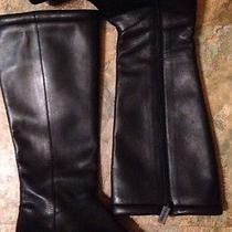Enzo Angiolini Soft Glove Leather Tall Riding Boots Sz 6m Excellent Condition Photo