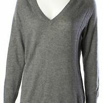 Equipment Grey Sweater Sz Xs 636819 Photo