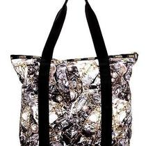 Erickson Beamon for Lesportsac Janis Tote Glenda Print 3304 P505 Nwt 168 Photo