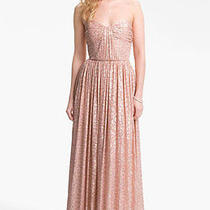 Erin Fetherston Metallic Gown Photo