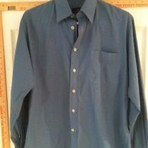 Ermenegildo Zegna Blue Medium Dress Shirt Photo