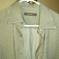 Ermenegildo Zegna - Dress Shirt - Multi Color Striped - Men's Large Photo