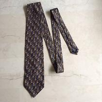 Ermenegildo Zegna Luxury Silk Necktie Italy Photo