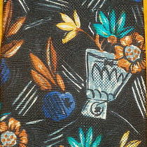 Ermenegildo Zegna  Silk Dress Shirt Tie  Masterpiece Painting  Art Flowers Photo