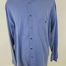 Ermenegildo Zegna Xxl/2xl Men's Long Sleeve Button Front Dress Shirt Nice Photo