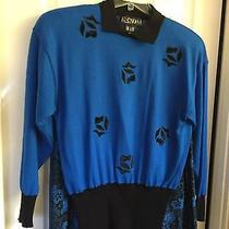 Escada 3pc Set Womens Size 36-Appliqued Sweater & 2  Skirts Size 38 Photo