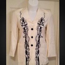 Escada Beautiful Raised Design Blazer Photo