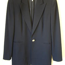 Escada Blue Wool Blazer  Photo