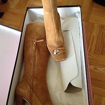 Escada Boots - Camel - Suede Photo
