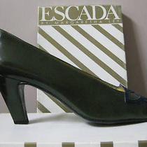 Escada by Margaretha Ley Vintage Pumps 7.5 in Box Photo