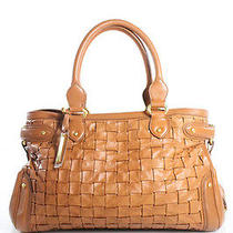 Escada Cognac Leather Hobo Handbag Photo