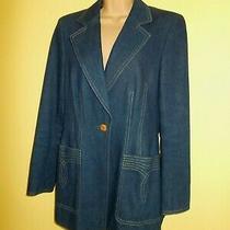 Escada Denim Jacket - Size 38 Photo