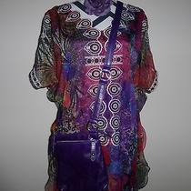 Escada Dress 85609 Aschheim/munich Cermany Rn 6189102675 Free Gift  Photo