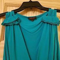 Escada Dress Green Summer Midi Size 40 Photo