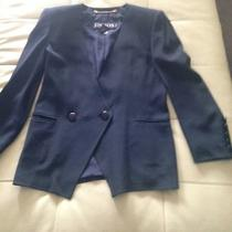 Escada Elegant Blue Blazer Photo