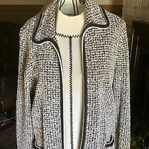 Escada for Neiman Marcus Wool Tweed Blazer Jacket Womens Size 10 Us / 44 Eu W/ S Photo