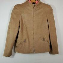 Escada Full Zip Wool/silk Jacket Made in Italy Size 38 Photo
