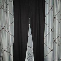 Escada Gray Dress New Wool Blend Pocket Front Pants Size 40 Euc Like N Vintage Photo