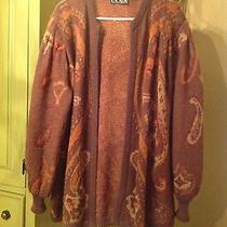 Escada Jacket/sweater European Size 40 Great Great Style and Colors Us Size 10 Photo