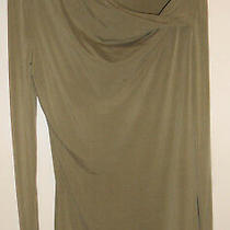 Escada Ladies Sage Green Blouse Top Long Sleeve New W/ Tags Photo