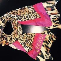 Escada Leopard Print Scarf Photo