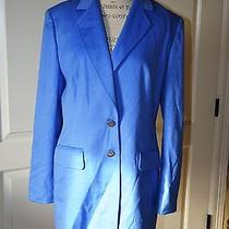 Escada Margaretha Ley Blazer  Rabbit Wool Size 42 Photo