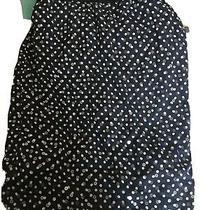 Escada Margaretha Ley Size 40 Blue Spot Sequin Skirt (T10) Photo