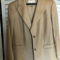 Escada Pure Wool Blazer and Pant Woman Size 44 Mint Condition Photo