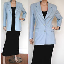 Escada Rabbit & Wool Blend Jacket  Size 38  Aus 12 Photo