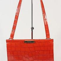 Escada Red Crocodile Handbag Photo