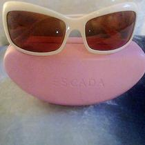 Escada Retro Style Sunglasses With Animal Print Photo
