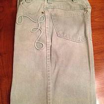 Escada Seafoam Green Jeans  Photo