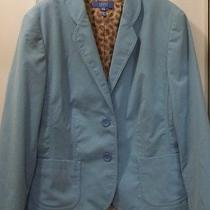 Escada Sport 2 Button Women's Designer Blazer Jacket Sport Coat Heart  Size 44  Photo
