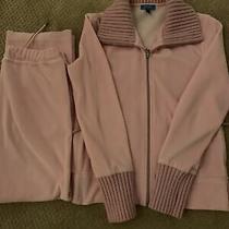 Escada Sport Active Wear Velvet  Pink Set Size S (Was 450) Photo