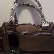 Escada Sport Brown  Duffle Bag Photo