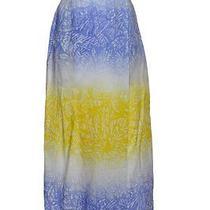 Escada Sport Cotton Sarong Faux Wrap Skirt Size 34/2 Photo