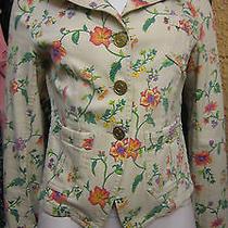Escada Sport Floral Print Jacket   Photo