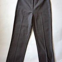 Escada Sport Gray Straight Leg High Rise Dress Pants Trouers Sz 38 (Us 0) Photo