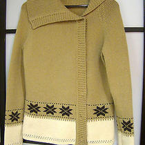 Escada Sport Winter Snowflake Sweater Photo