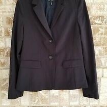 Escada Sport Women's Black Jacket Blazer Size 40 Photo