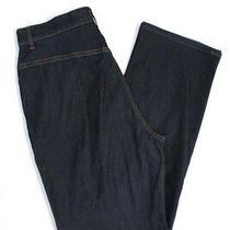 Escada Sport Women's Button Closure Cropped Jeans Cotton Blue Size 38 Photo