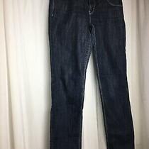 Escada Sport Womens Straight Leg Jeans Blue Waist Size 38 Photo