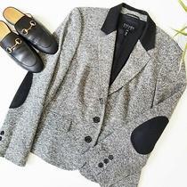 Escada Sport Women's Wool Charcoal Blazer Size 40/medium Photo