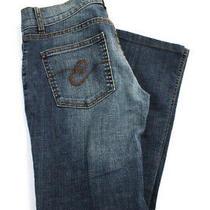 Escada Sport  Womens Boot Cut Four Pocket Jeans Blue Denim Size 34 Photo