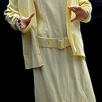 Escada Vintage Knit Dress With Cardigan Photo
