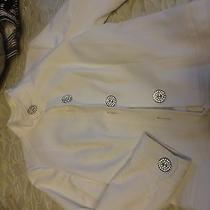 Escada White Dress Top Jacket  Photo