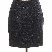 Escada Women Black Casual Skirt 42 Eur Photo